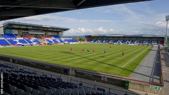 The Tulloch Caledonian Stadium, home to Inverness Caledonian Thistle.