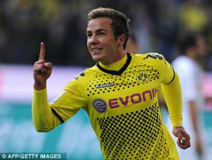 Mario Götze - a future world-beater?